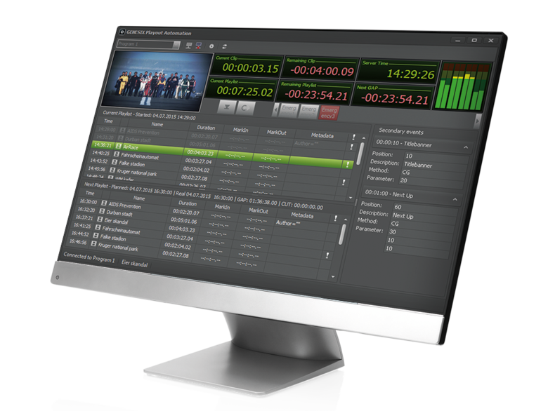 GENESIX Playout Automation
